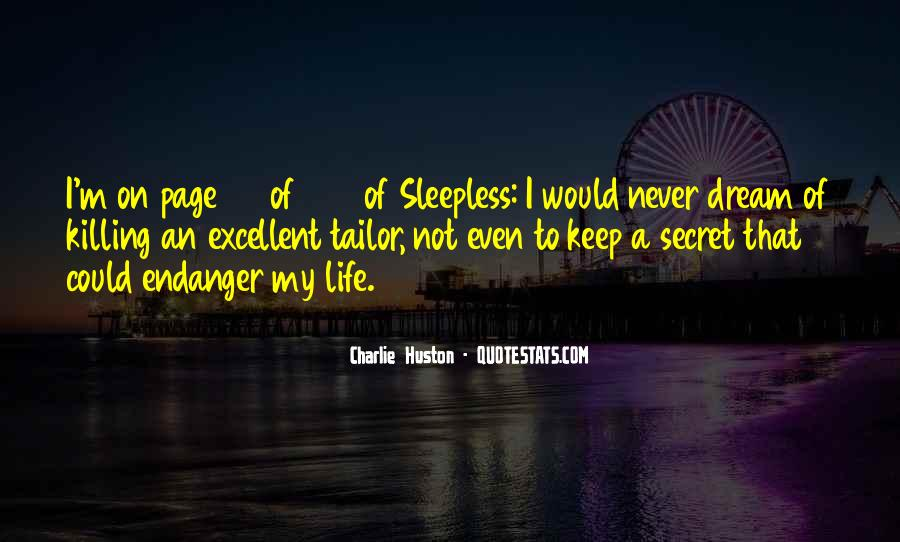 Life Sleepless Quotes #306955