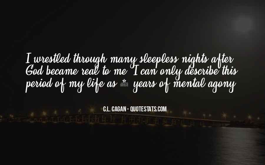 Life Sleepless Quotes #569680