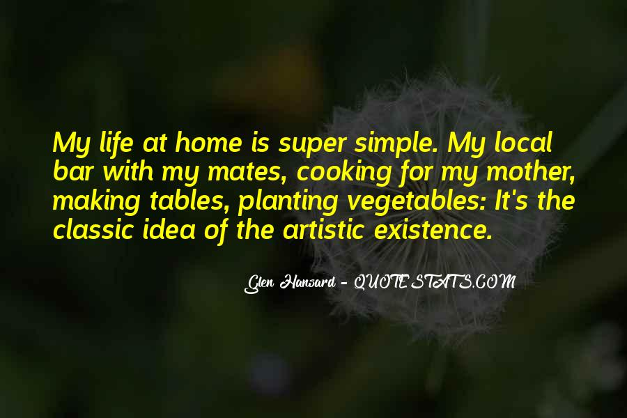 Life Vegetables Quotes #978202