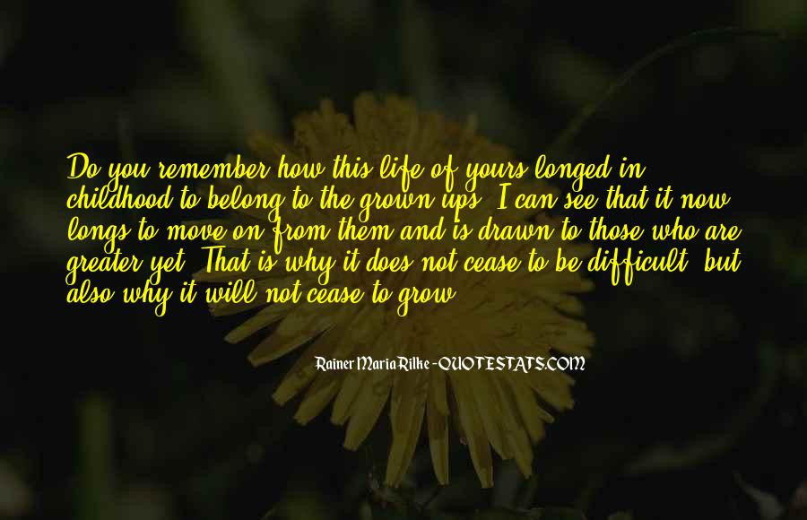 Life Will Move On Quotes #1615269