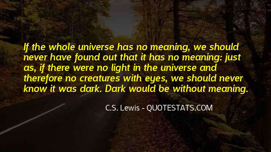 Life With Meaning Quotes #163623