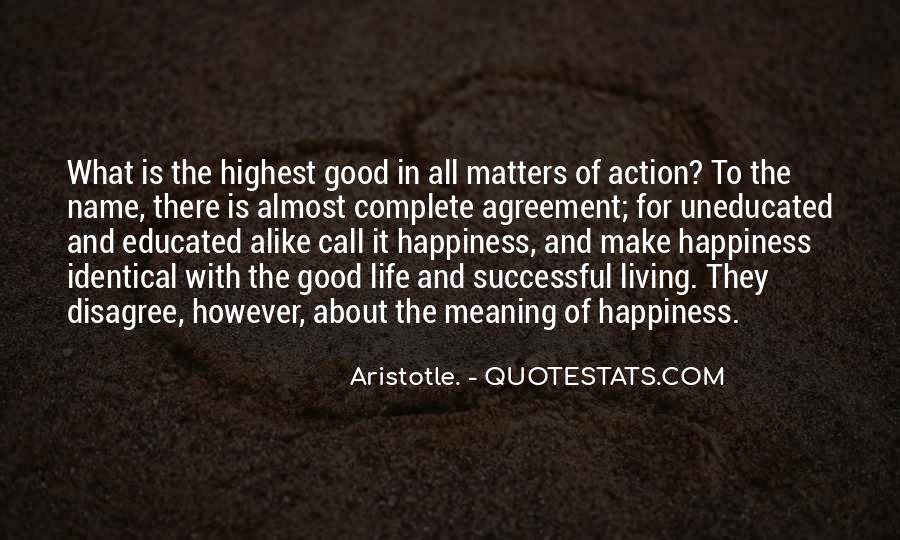 Life With Meaning Quotes #354836