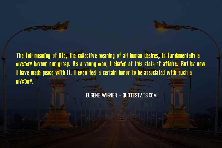 Life With Meaning Quotes #463313