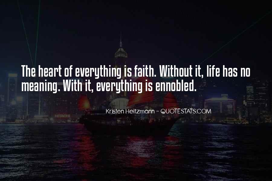 Life With Meaning Quotes #548490