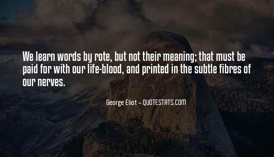 Life With Meaning Quotes #89378