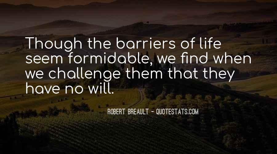 Life Without Barriers Quotes #955791