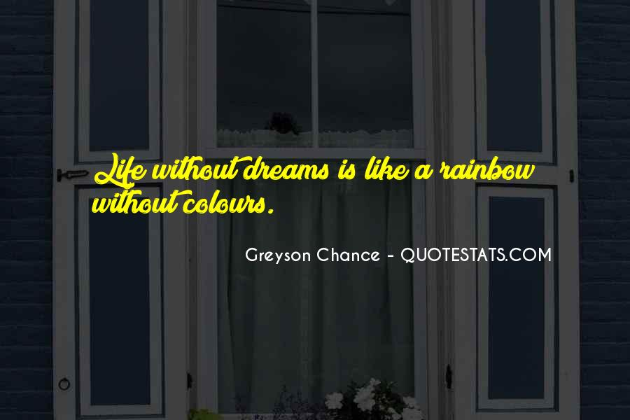 Life Without Colours Quotes #1161634