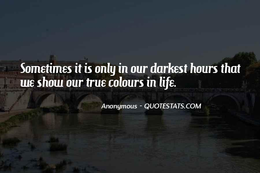 Life Without Colours Quotes #445693