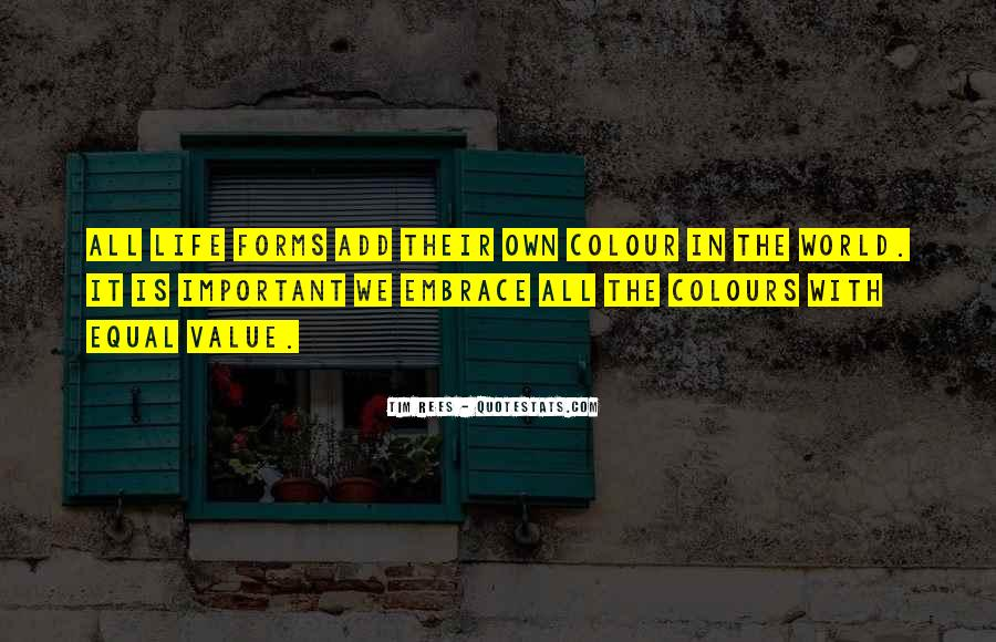 Life Without Colours Quotes #788108