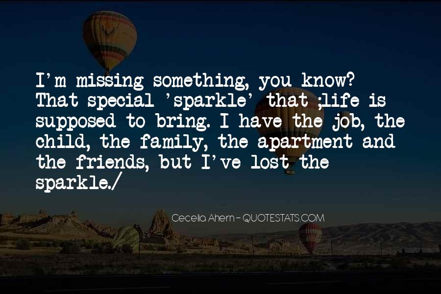 Life Without Family And Friends Quotes #184096