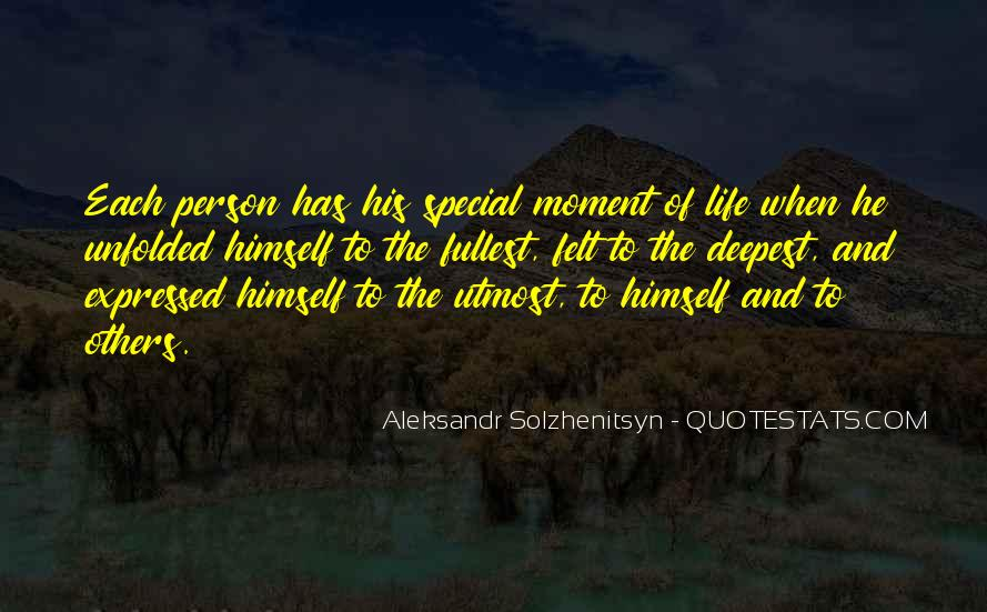 Life Without Someone Special Quotes #93841