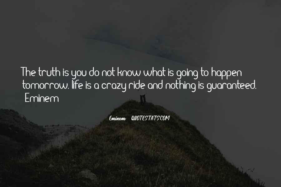 Life's A Crazy Ride Quotes #1508443