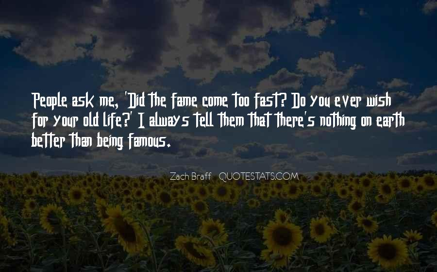 Life's Famous Quotes #632764