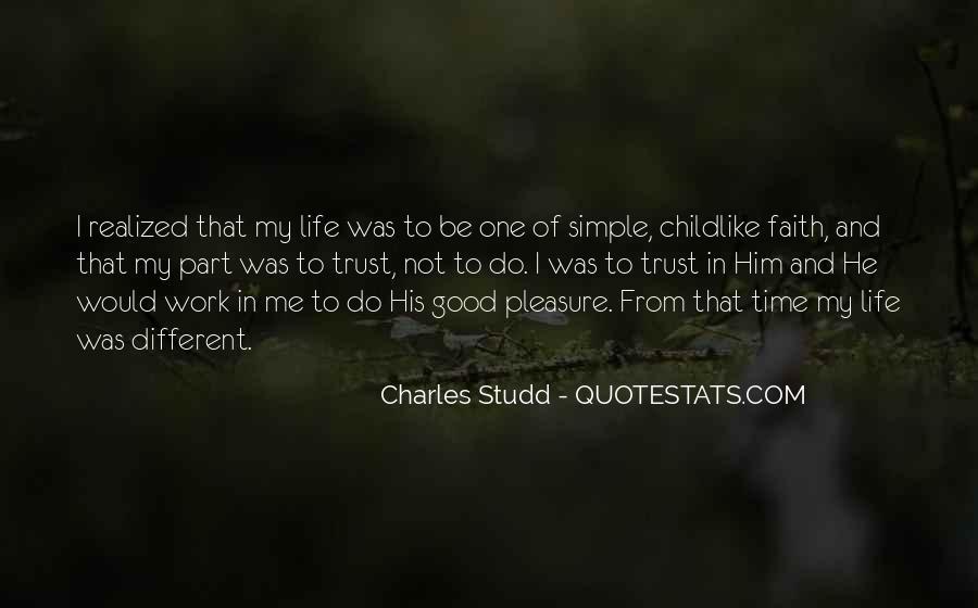 Life's Simple Pleasure Quotes #134925