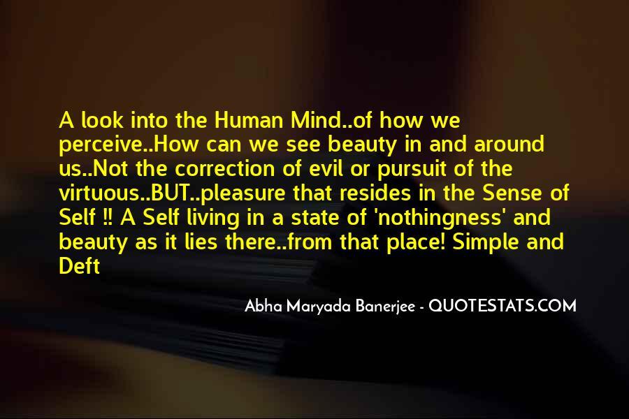 Life's Simple Pleasure Quotes #41426