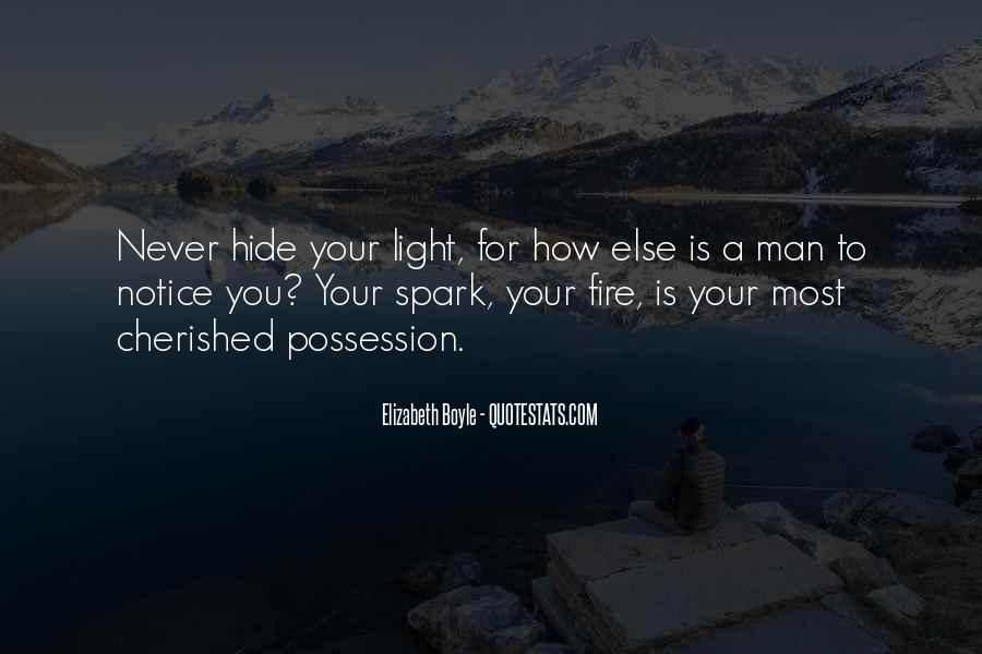 Light A Spark Quotes #1776791