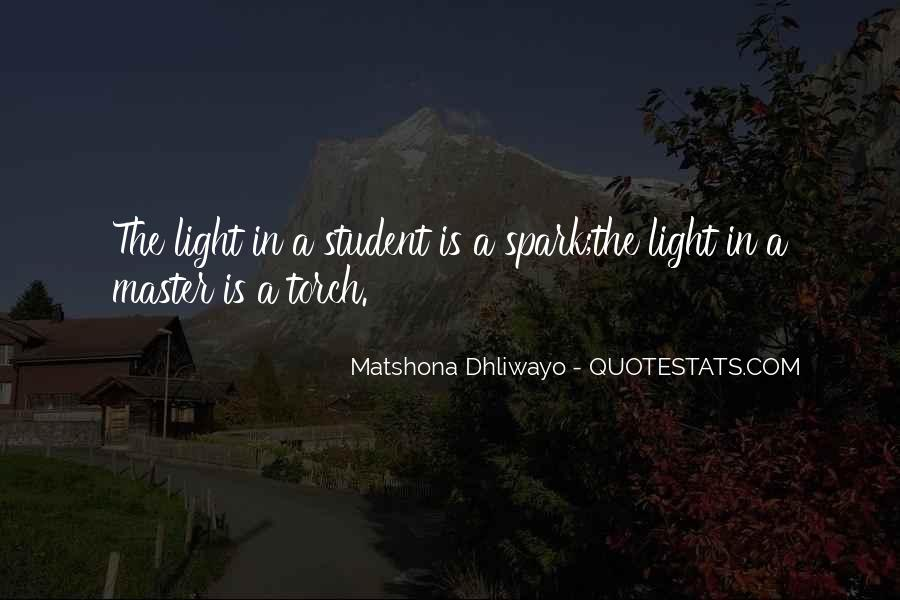 Light A Spark Quotes #654825