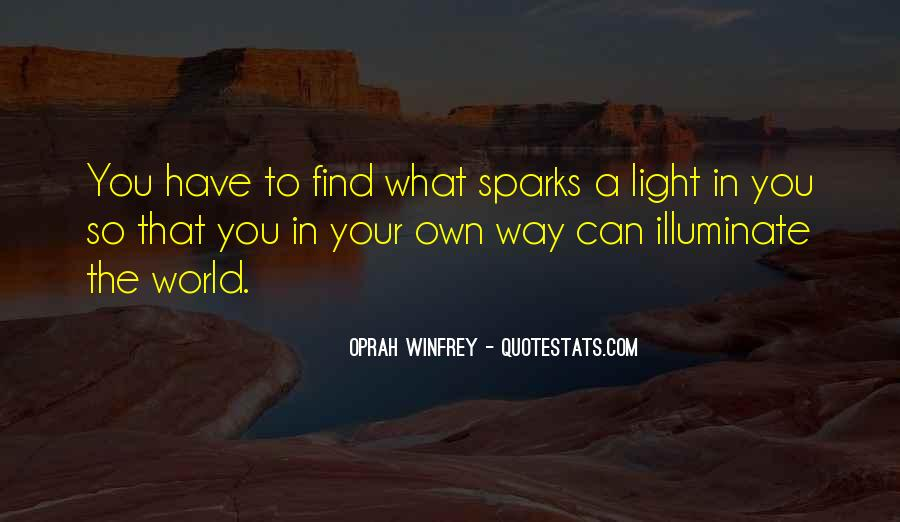 Light A Spark Quotes #941618
