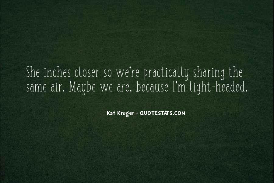 Light Headed Quotes #1490774