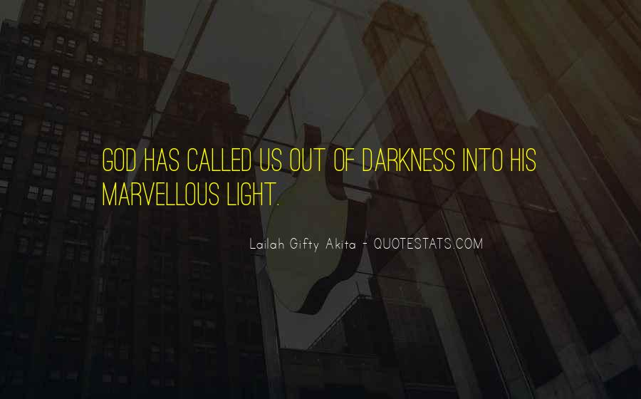 Light Of God Quotes #17441