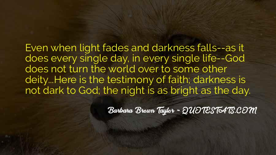 Light Of God Quotes #179117