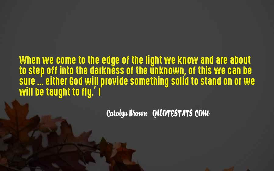 Light Of God Quotes #239317