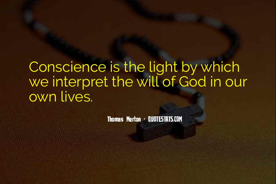 Light Of God Quotes #270677