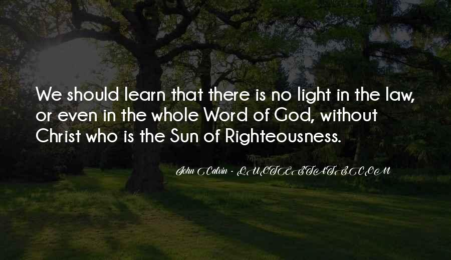 Light Of God Quotes #279702