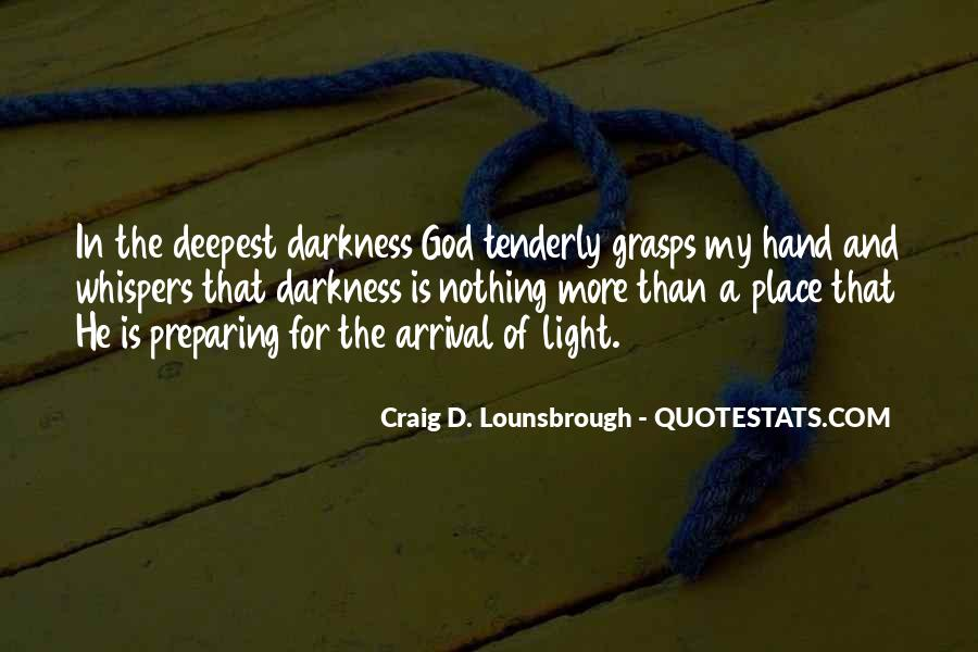 Light Of God Quotes #302944