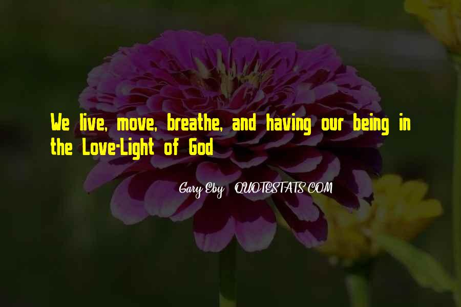 Light Of God Quotes #39989
