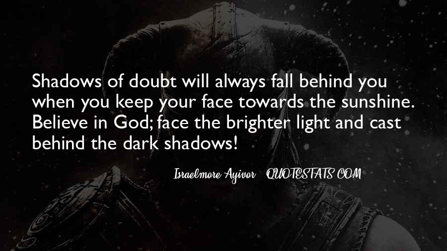 Light Of God Quotes #69172