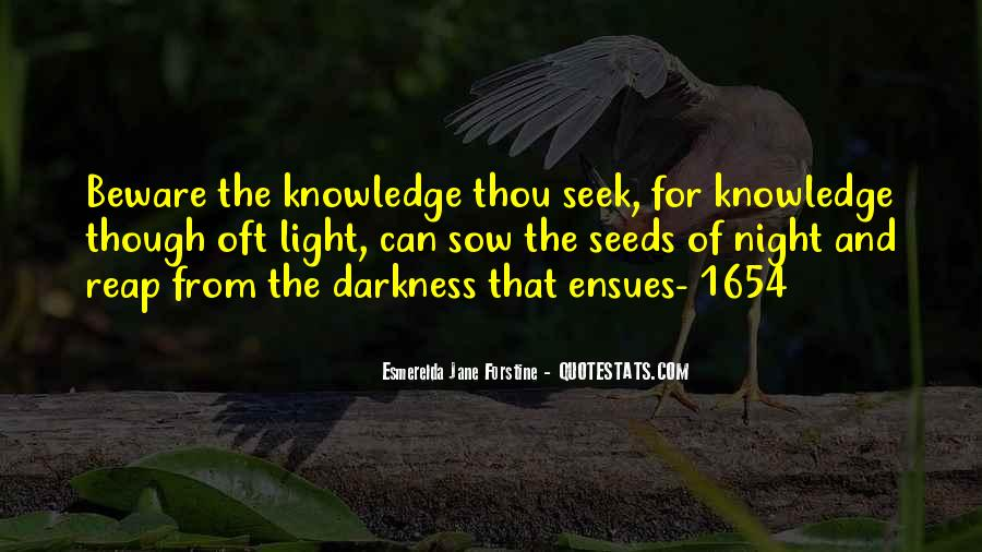 Light Of Knowledge Quotes #1016839