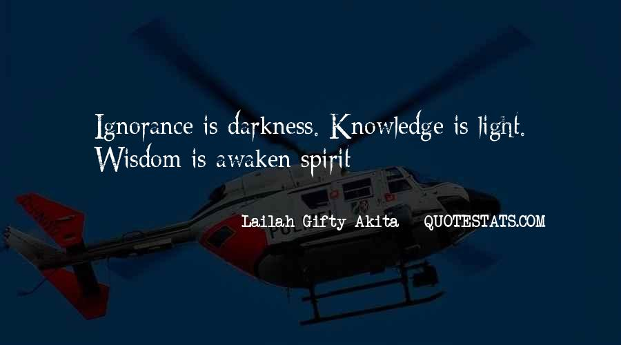 Light Of Knowledge Quotes #265248