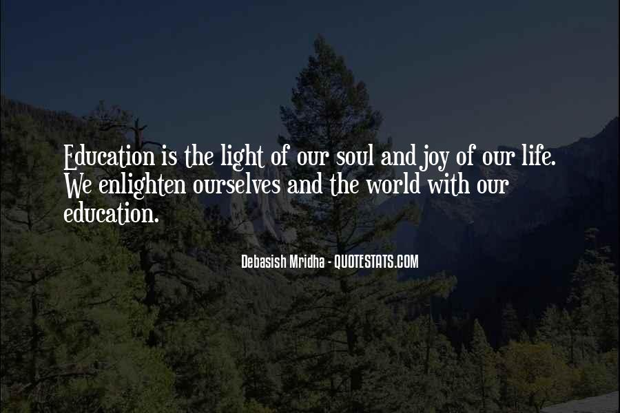 Light Of Knowledge Quotes #291906