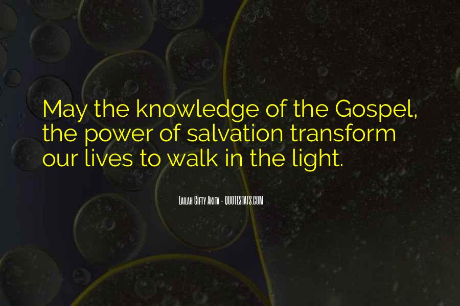 Light Of Knowledge Quotes #518413