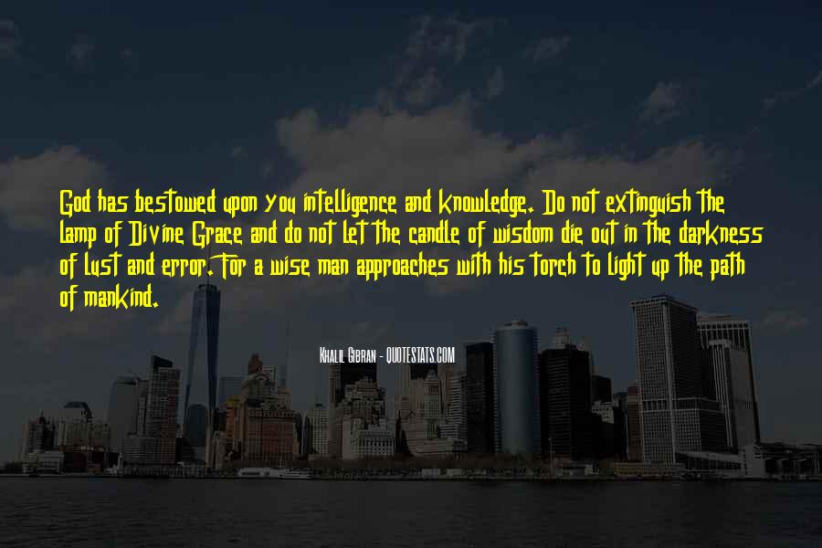 Light Of Knowledge Quotes #604037