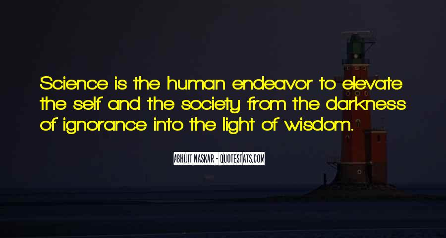 Light Of Knowledge Quotes #634055