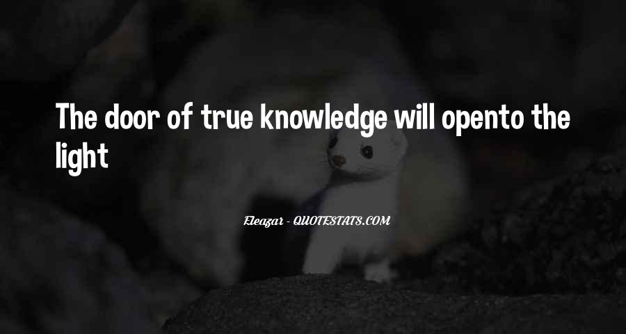 Light Of Knowledge Quotes #72184