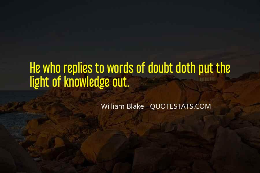 Light Of Knowledge Quotes #956681