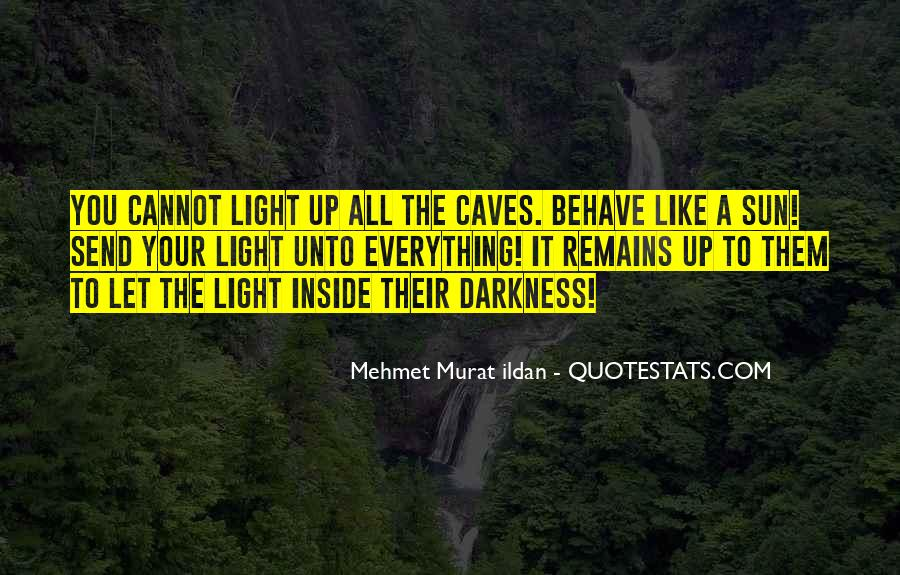 Light Up Darkness Quotes #1215629