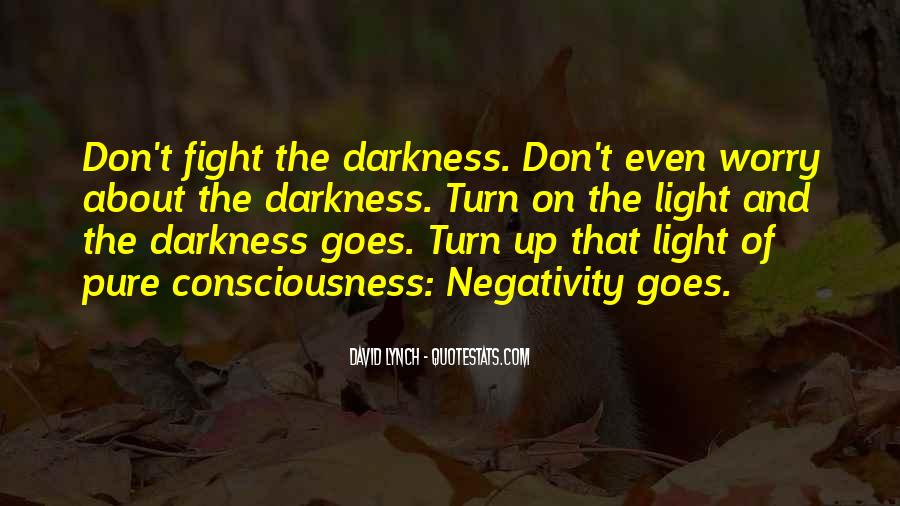 Light Up Darkness Quotes #1407335