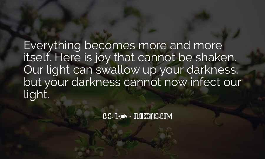 Light Up Darkness Quotes #731134
