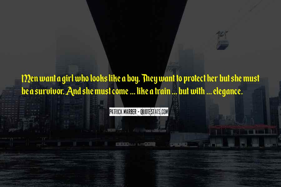 Like A Train Quotes #234018