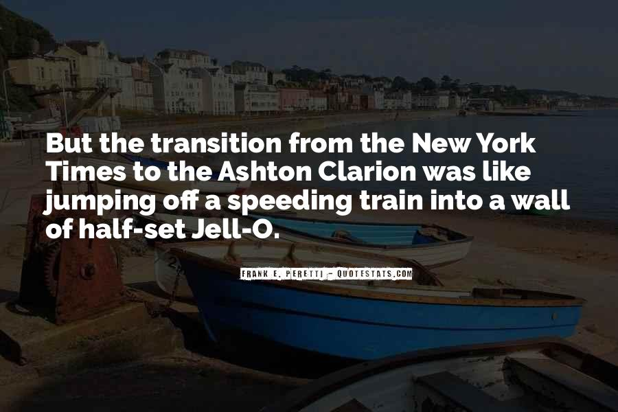 Like A Train Quotes #266677