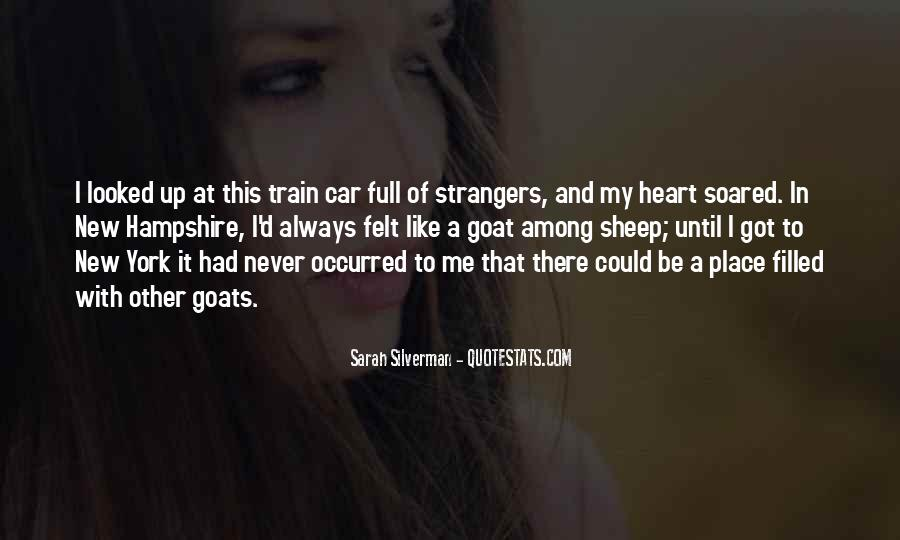 Like A Train Quotes #313927