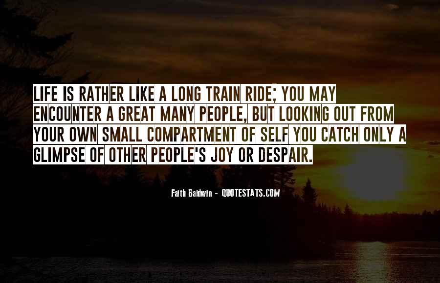 Like A Train Quotes #63177