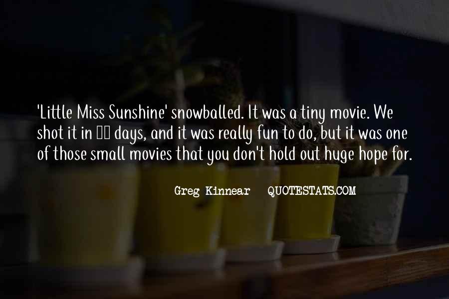 Lil Miss Sunshine Quotes #613800