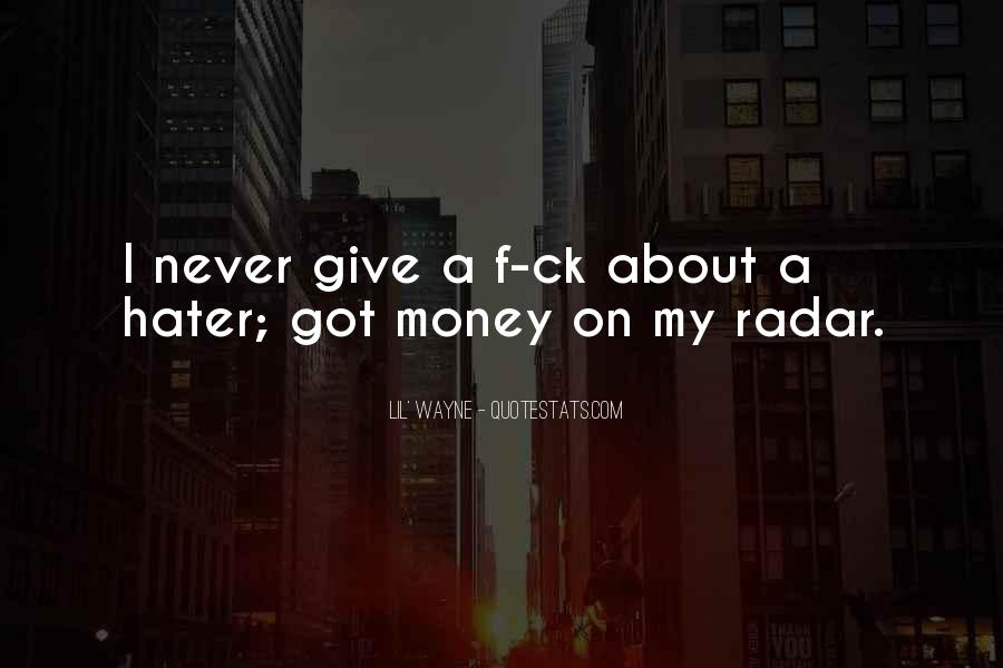 Lil Wayne Best Money Quotes #43980