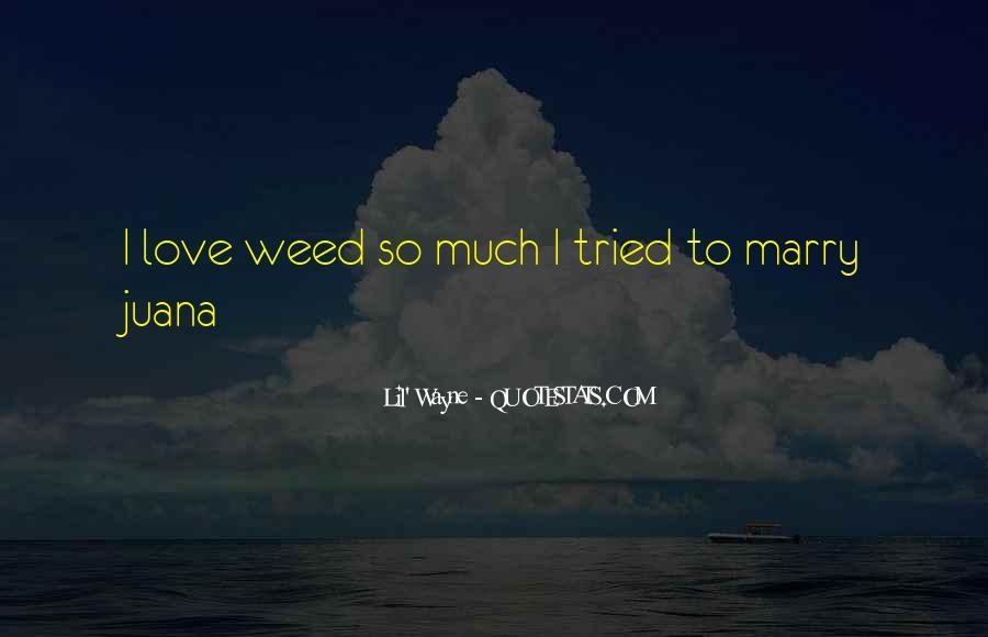 Lil Wayne No Love Quotes #490015