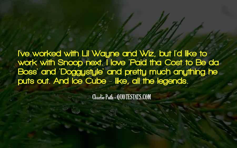 Lil Wayne No Love Quotes #509969